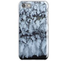 Ice Crystals in Blue iPhone Case/Skin
