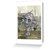 "TECHNO BOLT ""Greeting and Post Cards"" Greeting Card"