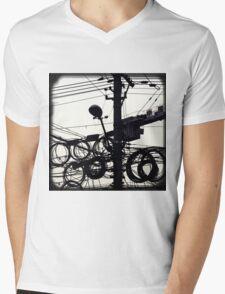OLD SHANGHAI - High Speed Development Mens V-Neck T-Shirt