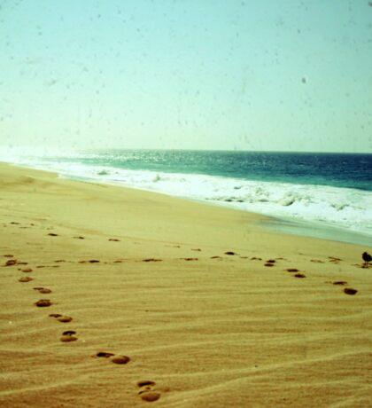 BEACH BLISS - Footprints Sticker