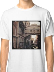 MERCHANT OF VENICE - Bridge of Sighs Classic T-Shirt
