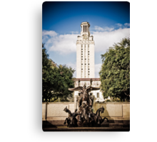 The University of Texas Tower Canvas Print