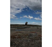 Lone rock Photographic Print