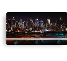 Boulevard East Canvas Print