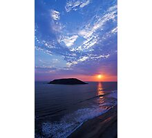 Waves Above and Below Photographic Print