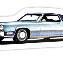 1969 Cadillac Coupe Sticker
