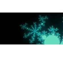 Ice Spires & Snowflakes Photographic Print