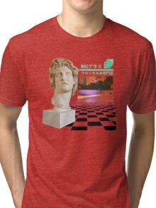 Macintosh Plus - Floral Shoppe Tri-blend T-Shirt