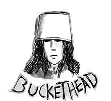 Buckethead frozen brains tell no  tales Photographic Print