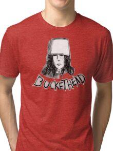 Buckethead frozen brains tell no  tales Tri-blend T-Shirt