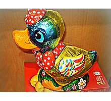 *Donald Duck Easter Gift* Photographic Print