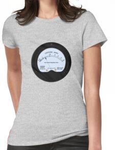 Caffeine Gauge Womens Fitted T-Shirt