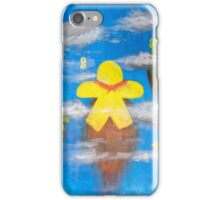 Flying hero meeps iPhone Case/Skin
