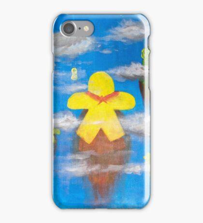 Flying hero meeps iPhone Case/Skin