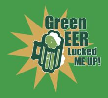 Green Beer Luck by GeoWrks