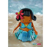 CHUNKIE Hula Girl Photographic Print