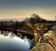 Wallace Monument from Stirling Bridge by NeilAlderney