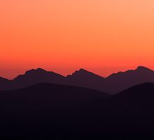 Mountain Glow by Jared Revell