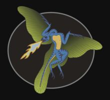 Archaeopteryx (the fire breathing kind) Kids Clothes