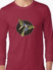 Archaeopteryx (the fire breathing kind) Long Sleeve T-Shirt