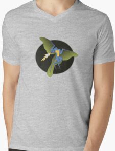 Archaeopteryx (the fire breathing kind) Mens V-Neck T-Shirt