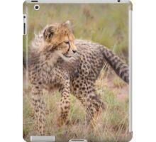 Carefree Cheetah Cub iPad Case/Skin