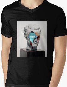 BLEEDING VAPOR Mens V-Neck T-Shirt