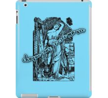 I Create My Life Every Day (in French) iPad Case/Skin