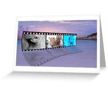 Beach Strip 35mm Greeting Card
