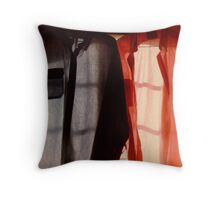 Two Shirts in a Window, Study Number 1 Throw Pillow