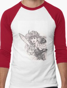 Dovahkiin Men's Baseball ¾ T-Shirt