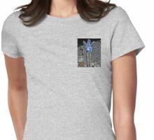 The Pattern of Melt, Freeze, Melt, Freeze Womens Fitted T-Shirt