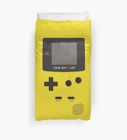 Retro Video Game Boy Console Duvet Cover