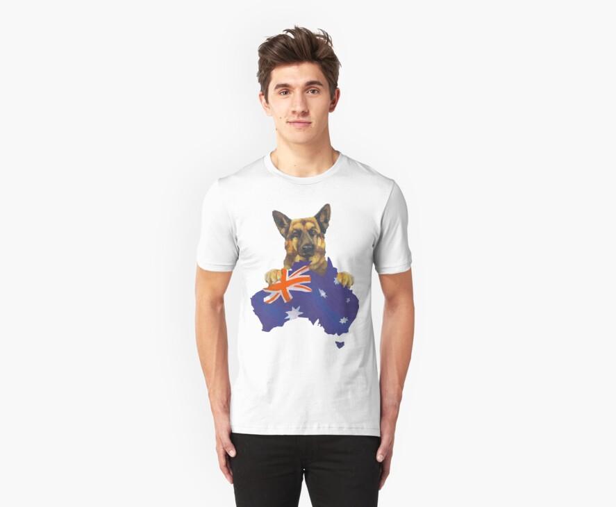 Aussie Shepherd by Scott Westlake