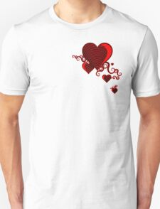 squiggle hearts T-Shirt