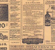 Retro Old Newspaper Page Look by CroDesign
