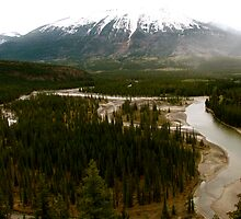 Old Fort Point, Jasper National Park by C1oud