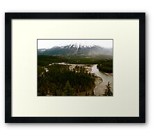 Old Fort Point, Jasper National Park Framed Print