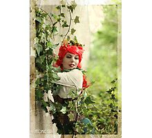 Dieselpunk Poison Ivy Embrace Photographic Print