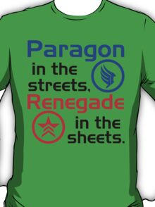 Paragon vs. Renegade T-Shirt