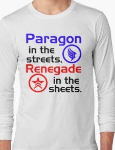 Paragon vs. Renegade Long Sleeve T-Shirt