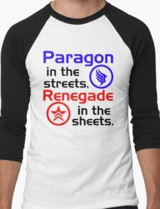 Paragon vs. Renegade Men's Baseball ¾ T-Shirt