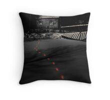 'Dark ways' Throw Pillow