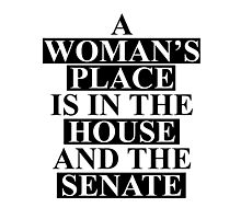 A Woman's Place... Photographic Print