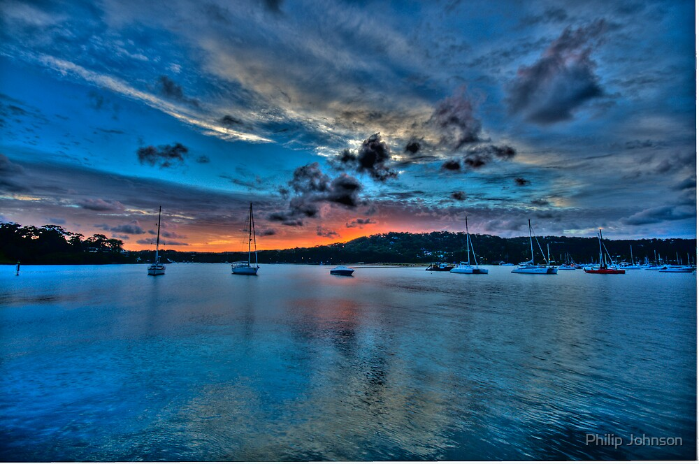 The Blues Of The Night - Newport - The HDR Experience by Philip Johnson