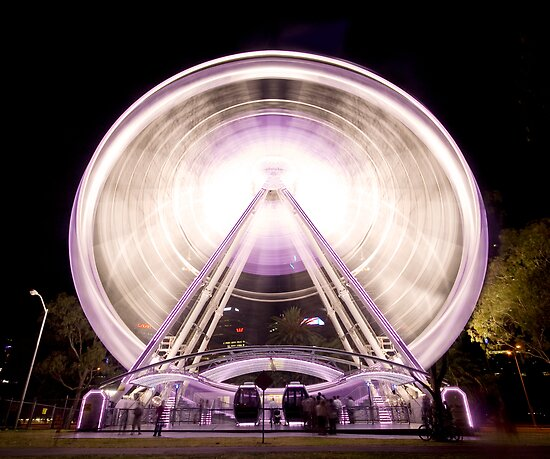 Perth Wheel by Keegan Wong