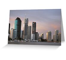 A View from Kangaroo Point, Brisbane Greeting Card