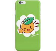 Orange Kid iPhone Case/Skin