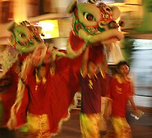 Dragon Dancers by jonbunston