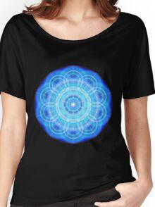 12 Phi Ratio Circles Mandala Women's Relaxed Fit T-Shirt